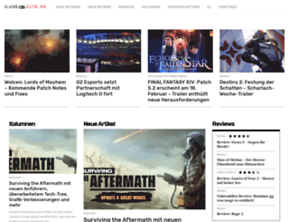gamezine.de screenshot