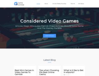 gamezombie.tv screenshot