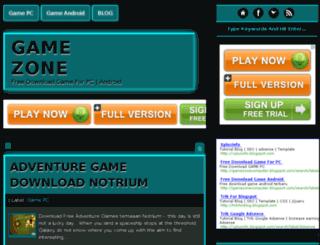 gamezonecomputer.blogspot.com screenshot