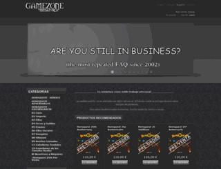 gamezoneminiatures.com screenshot
