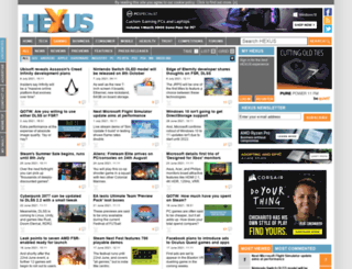 gaming.hexus.net screenshot