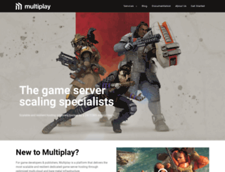 gaming.multiplay.co.uk screenshot