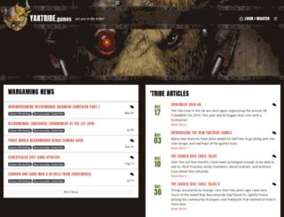 gaming.yaktribe.org screenshot