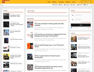 gamingcentral.com screenshot
