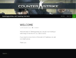 gamingjunkies.net screenshot