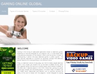 gamingonlineglobal.com screenshot