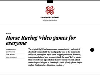gamingreviews5.wordpress.com screenshot