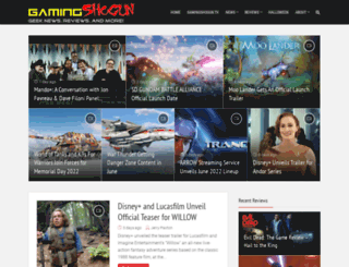 gamingshogun.com screenshot
