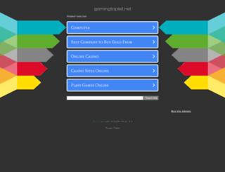 gamingtoplist.net screenshot
