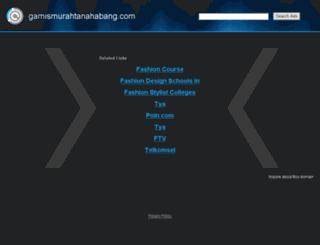 gamismurahtanahabang.com screenshot