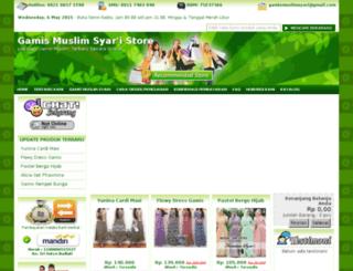 gamismuslimsyari.com screenshot