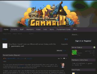gammamc.net screenshot