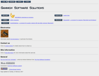 gammon.com.au screenshot