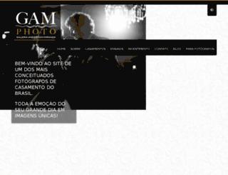 gamphoto.com.br screenshot