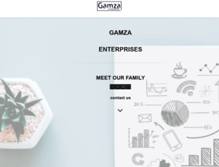 gamzaenterprises.co.za screenshot