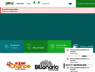 gana.com.co screenshot