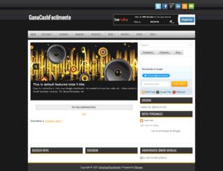 ganacashfacilmente.blogspot.com.es screenshot