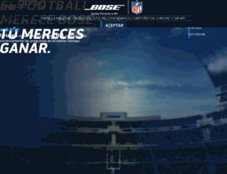 ganaconbose.com.mx screenshot