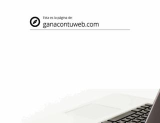 ganacontuweb.com screenshot