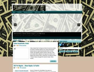 ganadineroseguroysinmentiras.blogspot.com screenshot