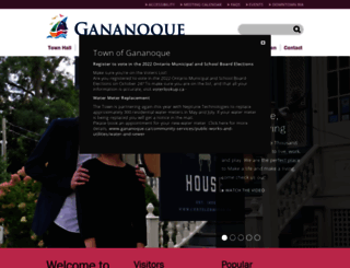 gananoque.ca screenshot