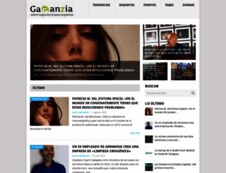gananzia.com screenshot