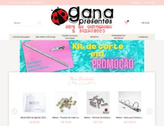ganapresentes.com.br screenshot