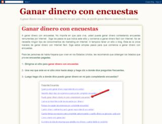 ganar-dinero-con-encuestas.blogspot.com screenshot