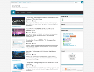 ganaspati.blogspot.com screenshot