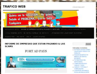 ganatraficoweb.com screenshot