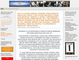 ganchoycross.com.ar screenshot