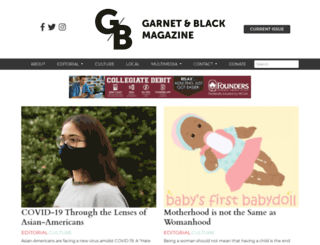 gandbmagazine.com screenshot