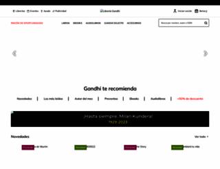 gandhi.com.mx screenshot
