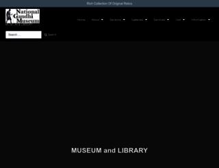 gandhimuseum.org screenshot