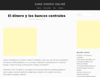 ganedineroonline.es screenshot