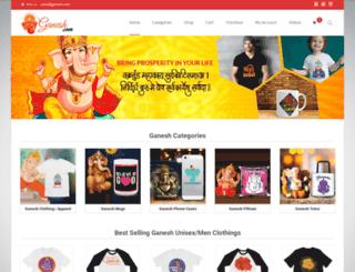 ganesh.com screenshot