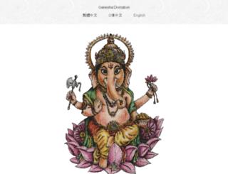 ganesha-divination.com screenshot