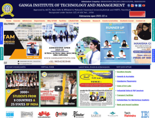 gangainstitute.com screenshot