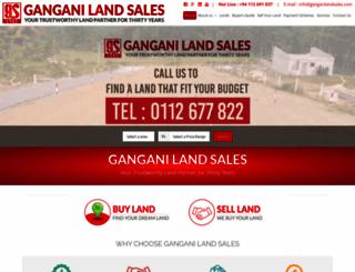 ganganilandsales.com screenshot
