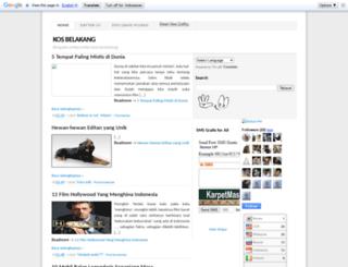 gangbelakang.blogspot.com screenshot