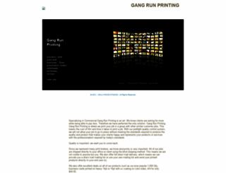 gangrunprintingny.com screenshot