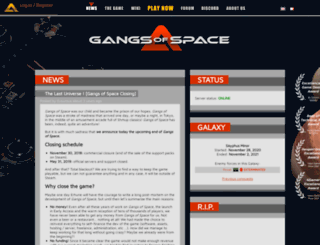 gangsofspace.com screenshot