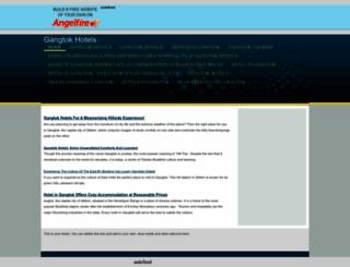 gangtokhotels.angelfire.com screenshot