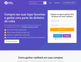 ganhedevolta.com.br screenshot