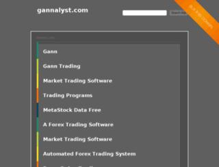 gannalyst.com screenshot