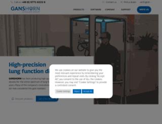 ganshorn.de screenshot
