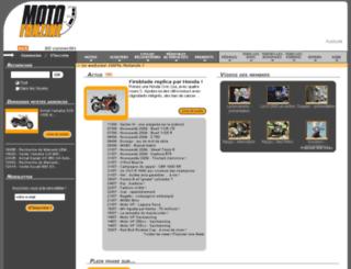 gant-moto.motofanzine.fr screenshot