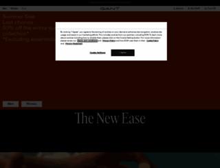 gant.com screenshot