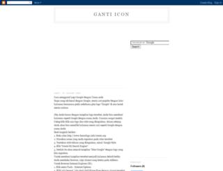 ganti-icon.blogspot.com screenshot
