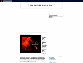 gantilogoboot.blogspot.com screenshot
